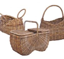Rattan Picnic Baskets