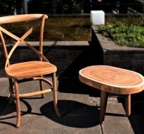 XGFDN13 Teakwood Dining Chair