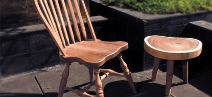 KATRIN Wooden Dining Chair